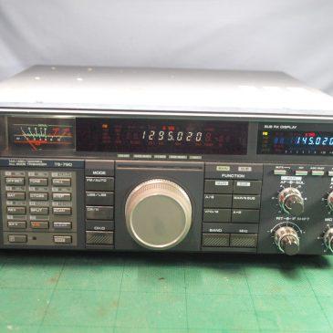 TS-790G 修理 144帯の送信出力が小さい