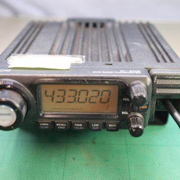 IC-208D 修理 430の出力が低い (2)