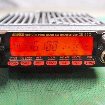 DR-620DV 修理 電源入らない