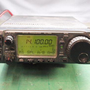 IC-706 電源入らない 50MHz帯100W改造