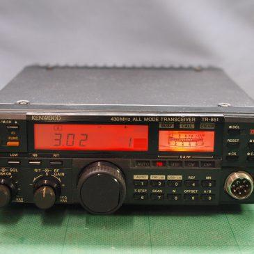 TR-851D 修理&改造 (LED化,SEND出力追加)