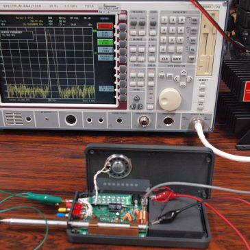 西無線 NTS111 分解&測定レポート 追加