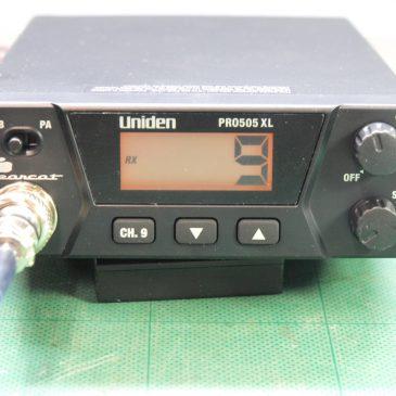 ユニデン  PRO505XL (FCC CB)分解&測定レポート