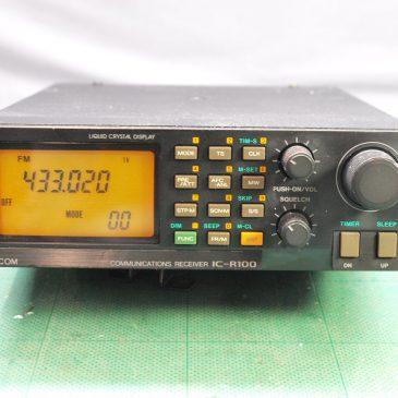ICOM IC-R100 受信機 プリアンプ効かない
