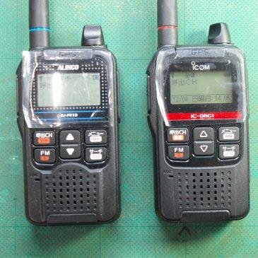 DJ-PV1D・IC-DRC1 デジコミ パワー測定